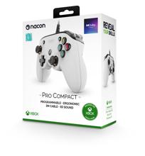 Nacon Pro Compact Controller White for Xbox Series, Xbox One & PC