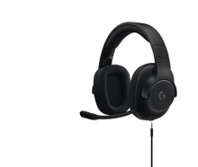 Logitech G433 7.1 Surround Gaming Headset Triple Black for PC, PS4, Xbox One, Switch & Mobile