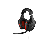 Logitech G332 Wired Stereo Gaming Headset Leatherette for PC, PS4, Xbox One & Switch