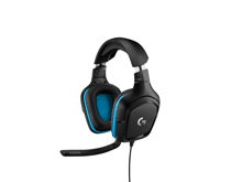 Logitech G432 Wired 7.1 Surround Gaming Headset Leatherette for PC, PS4, Xbox One & Switch