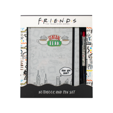 Friends - Notebook and Pen Stationery Gift Set