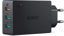 Aukey - PA-T14 Titan Series 42W 3-Port USB Wall Charger