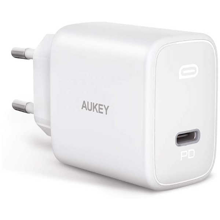 Aukey - PA-F1S-WT Swift 20W  PD Wall Charger White