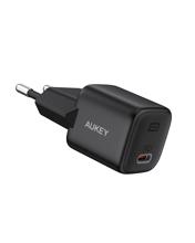 Aukey - PA-B1-BK Omnia Mini 20W USB-C PD Charger Black