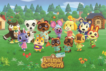 Animal Crossing - New Horizons Line-up Maxi Poster