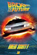 Back to the Future - Great Scott! Maxi Poster