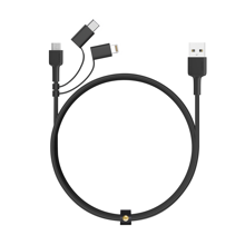 Aukey - CB-BAL5 Impulse Series 3-in-1 USB Cable