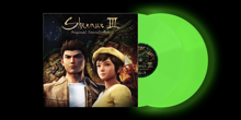 Shenmue 3 Original Soundtrack Music Selection - Glow in the dark Limited Edition