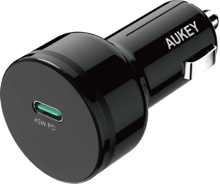 Aukey - CC-Y13 Expedition Series 45W PD USB-C Car Charger