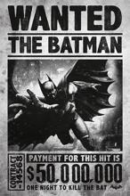 Batman Arkham Origins - Wanted Maxi Poster