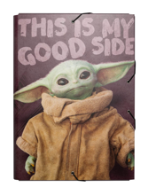 Star Wars: The Mandalorian - A4 Elastic Folder