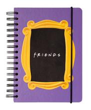 Friends - Hard Cover A5 Spiral Notebook
