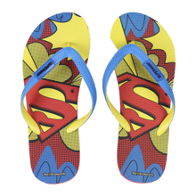 DC Comics - Superman Premium Flip-Flops - Size 40