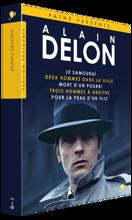 Alain Delon : Le Samourai / deux hommes dans la ville/Mort d'un pourri /3 Hommes à abattre/Pour la peau d'un flic