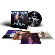 Dalida coffret coll. 1 brd+ 1 dvd+ 1 Cd + 4 photos