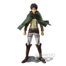 Attack on Titan - Master Star Piece The Eren Yeager Figure 26cm - Reproduction