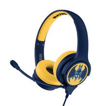 Batman - Batman Symbol Kids Interactive Headphones with Microphone
