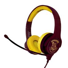 Harry Potter - Hogwarts Crest Kids Interactive Headphones with Microphone