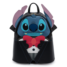 Funko Loungefly - Disney Vampire Stitch with Bow Tie  Minibackpack