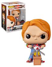 Funko Pop! Movies: Chucky w/Buddy & Giant Scissors