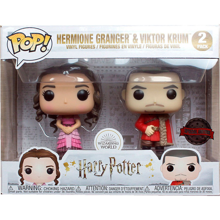 Funko Pop! Harry Potter S8 - 2PK Hermione & Krum