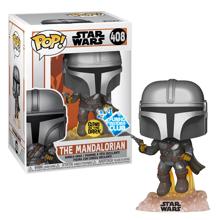 Funko Pop! Star Wars:Mandalorian - MandoFlying W/Blaste