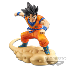 Dragon Ball Z - Hurry! Flying Nimbus!! Son Goku Figure 16cm - Reproduction