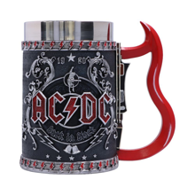 AC/DC - Back in Black Tankard 16cm