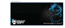 Dragonwar Front Sight XXL Gaming Mouse Mat