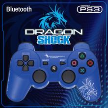 Dragonwar Dragon Shock Bluetooth Controller Blue for PS3