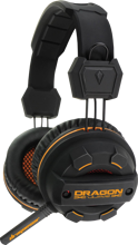 Dragonwar Revan Adjustable Gaming Headset PC with Noice Cancelling Mike and 40 MM Speakers