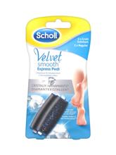 Scholl Velvet Smooth Express Pedi Diamant Crystal refills regular