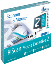 IRISCan Mouse Executive 2 All-in-1 Scanner & Mouse