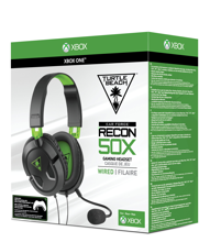 Turtle Beach Ear Force Recon 50X Wired Gaming Headset Black for Xbox Series, Xbox One, PS5, PS4, PC & Mobile