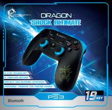 Dragonwar Dragon Shock Ultimate Wireless PS3 Gamepad