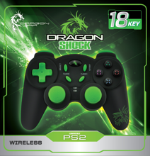 Dragonwar Dragon Shock Wireless Playstation 2
