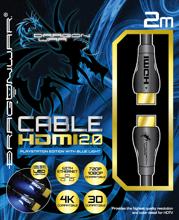 Dragonwar HDMI 2.0 4K ETHERNET Lightning Cable PS3/PS4 2016