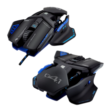 Dragonwar G4.1 Phantom 9500 DPI ergonomic and customizable RGB Gaming mouse with 7 buttons