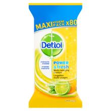 Dettol Power & Fresh Multi-action Lemon 80p.