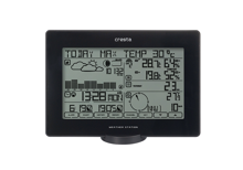 Cresta Professional Digital Weather Station Touch and USB BAR918 Black