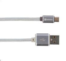 Skross Charge'n Sync Micro USB Steel Line