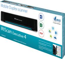 IRISCan Executive 4 Mobile Duplex Scanner