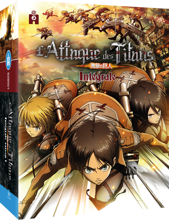 Attack on Titan season 1 completed collection DVD