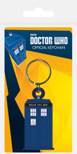 Doctor Who - Tardis Rubber Keychain