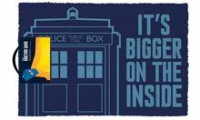 Doctor Who - Tardis It's Bigger on the Inside Doormat