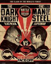 Batman vs Superman - Fight Mini Poster