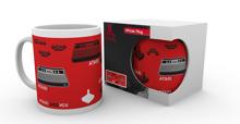 Atari Mug - Red Atari 2600 VCS