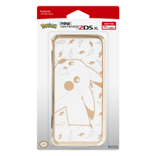 HORI - New Nintendo 2DS XL Premium Gold Pikachu Protector