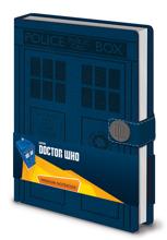 Dr Who Tardis Premium A5 Notebook