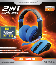 Dragonwar 2 in 1 Combo Set Blue Edition + Fallout 4